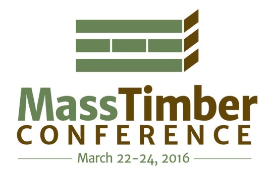 Logo for Mass Timber Conference
