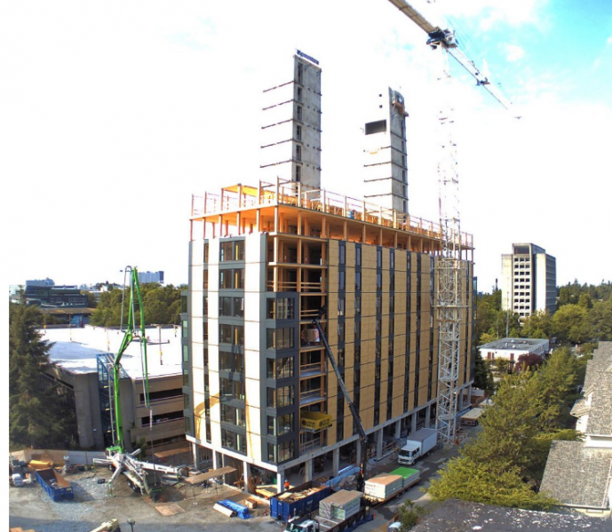 Construction On Ubc Dorm Continues Build It With Wood