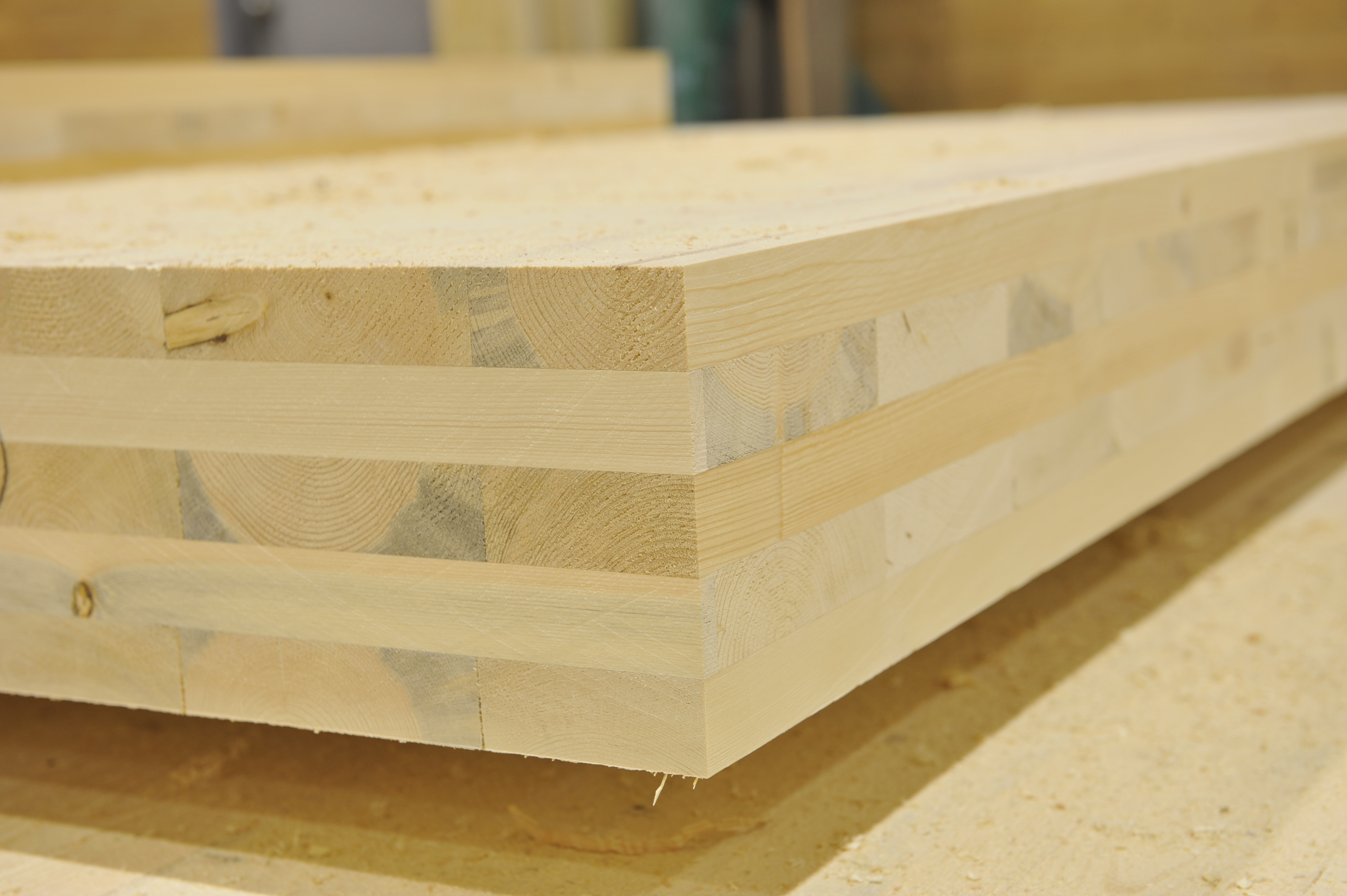 Cross laminated timber build it with wood for Laminated wood